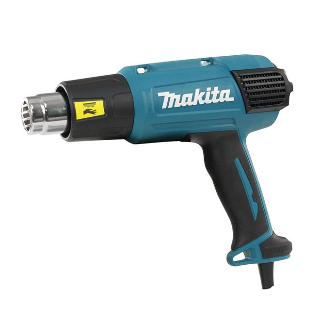 Heat Gun - 2 Power Levels - 1560 W - 13 A - Teal Blue