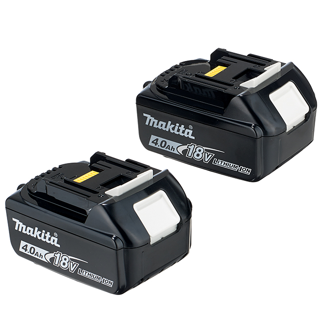 Cordless Power Tool Battery - 18 V - Lithium-Ion - Black - 2PK