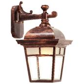 LED Outdoor Wall Lantern Imagine - Antique Copper - 14 1/2''