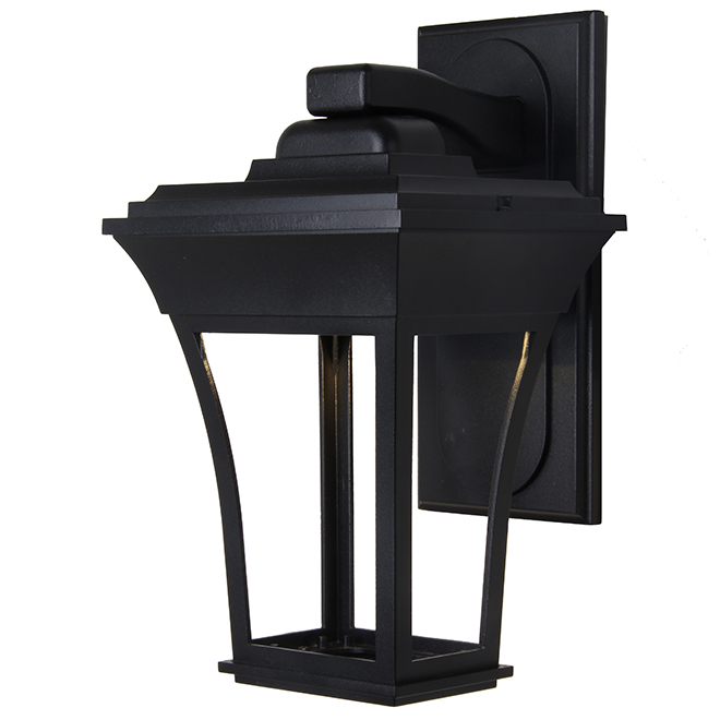 """Outdoor Wall Sconce - LED - Cast Aluminum - 15.5"""" - Black"""