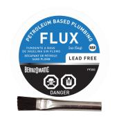 Lead Free Plumbing Flux - Petroleum - 2-oz