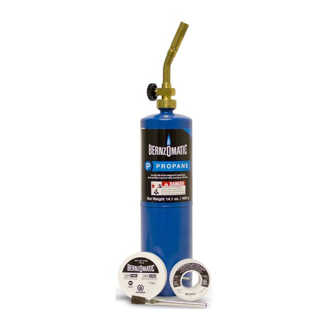 Plumber Torch Set - Propane - 5 Pieces
