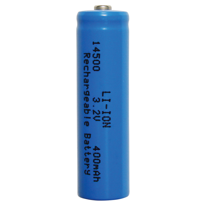 Rechargeable 400mAH Lithium Ion Battery - 3.2V  - 2 Pack