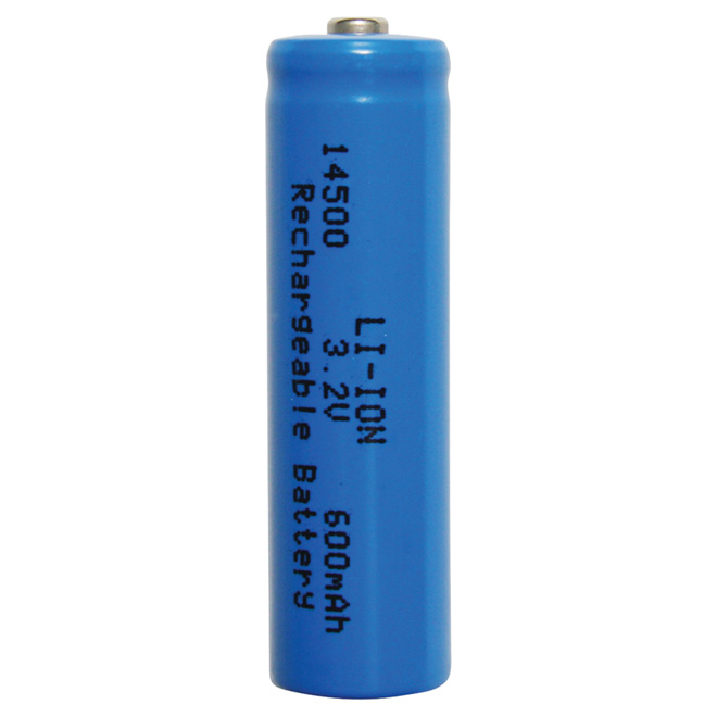 Rechargeable 600mAH Lithium Ion Battery - 3.2V  - 2 Pack