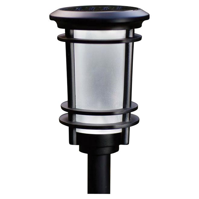 Garden Light - Solar - Black - Pack of 6