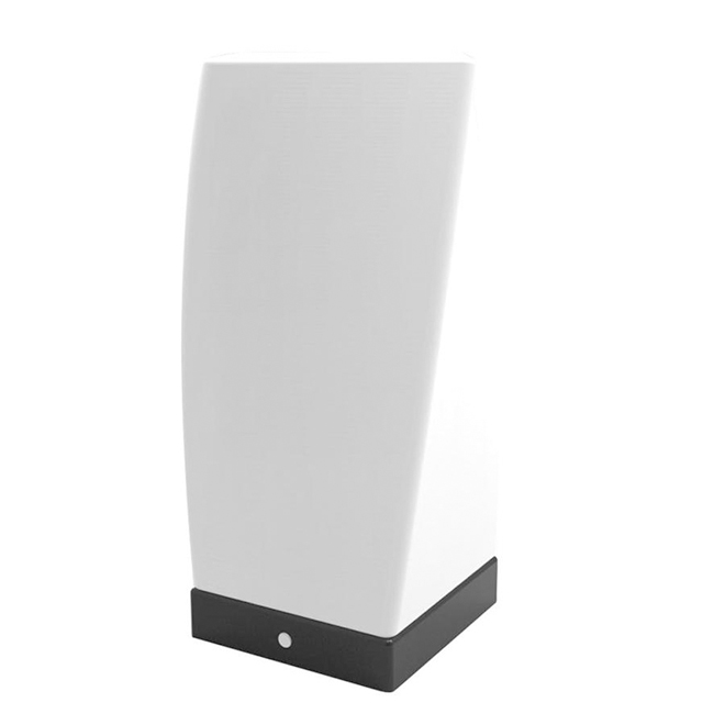 Project Source LED Desk Lamp - Rectangle - 12.5 cm x 22 cm - Brushed Nickel