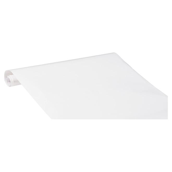 Film vinyle autocollant, blanc lustré | RONA