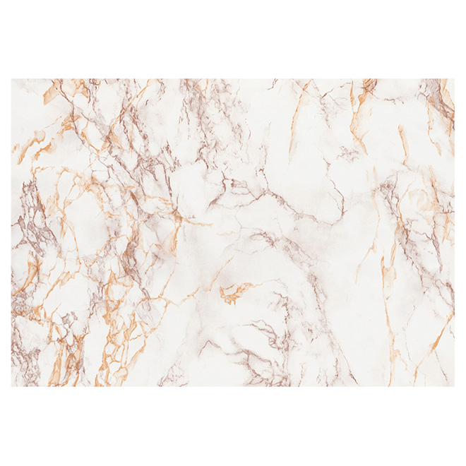 Self-Adhesive Vinyl Film - Brown and Gold Marble