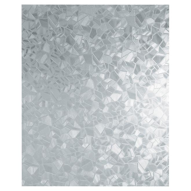 Self-Adhesive Window Film, Splinter Pattern