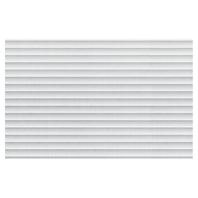 Self-Adhesive Vinyl Window Film - Frosted Stripes