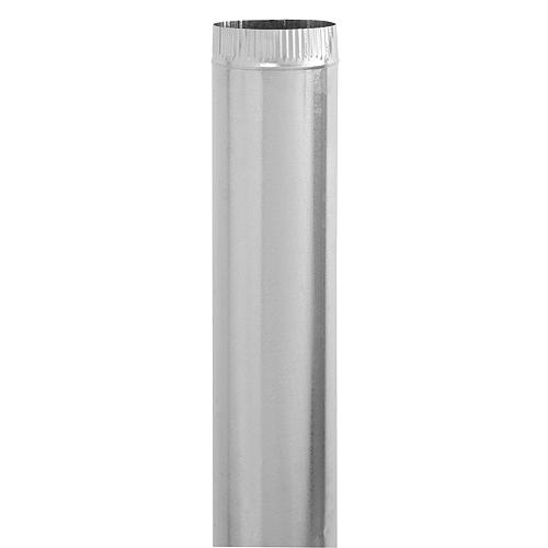 """4"""" Diameter Galvanized Steel Pipe"""