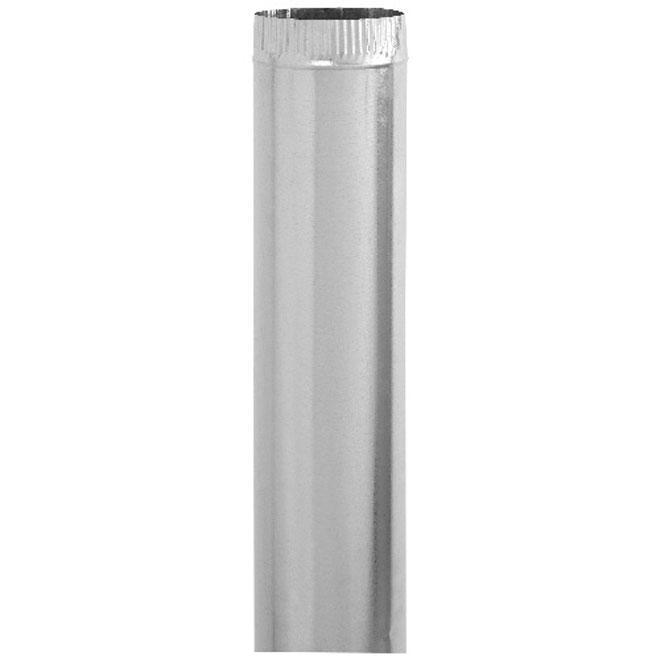 """5"""" Diameter Galvanized Steel Pipe"""
