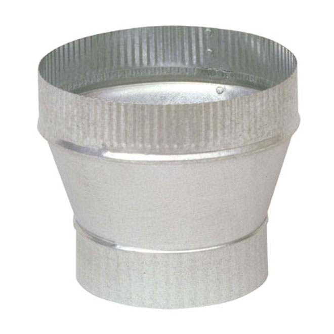 "5"" to 6"" Diameter Galvanized Steel Increaser"