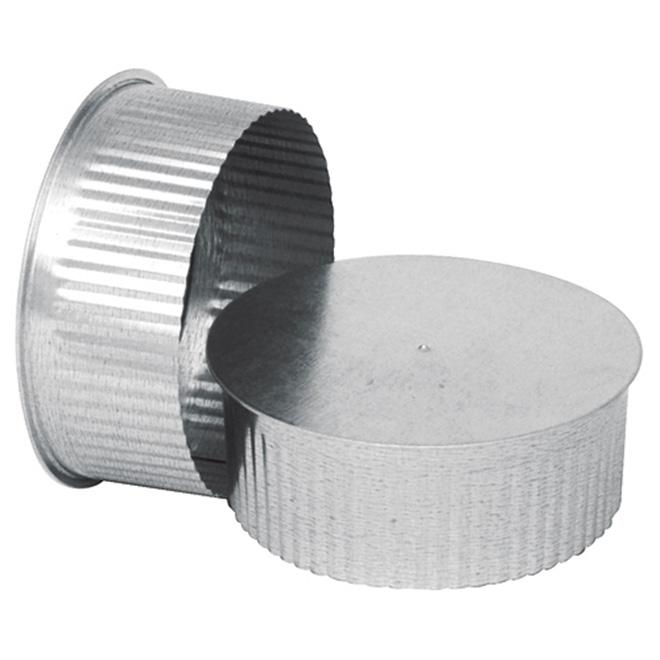 Galvanized Steel End Cap