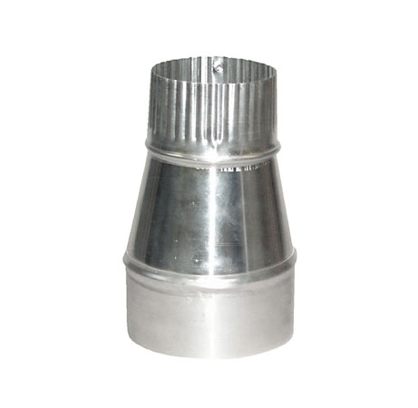 "4"" to 3"" Diameter Aluminum Reducer"