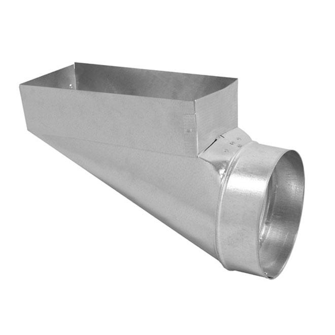 Register Boot - 30-Gauge Steel - 4'' x 10'' x 4''
