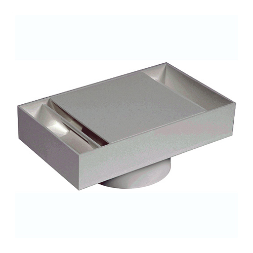 Imperial Soffit Exhaust - Plastic - 4-in - White