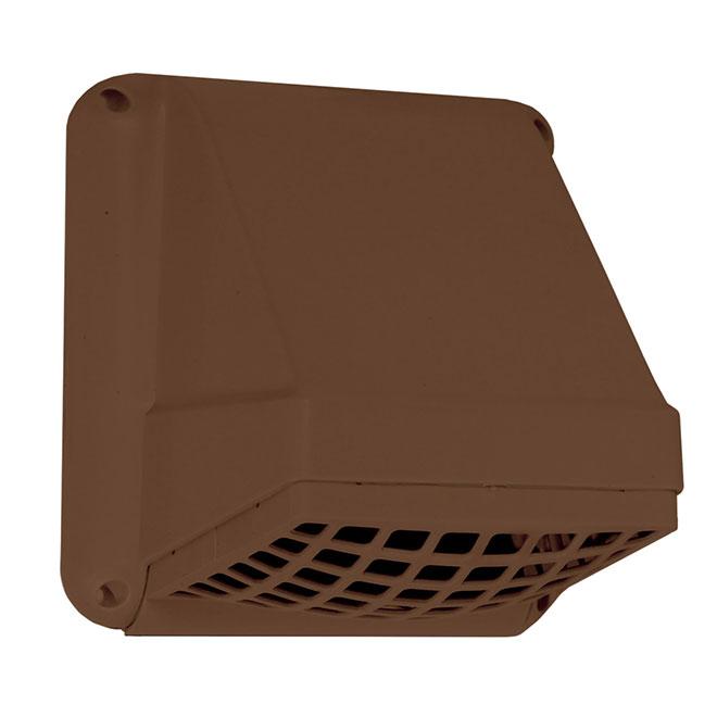 "Preferred - 4"" - Plastic Hood Cap - Brown"
