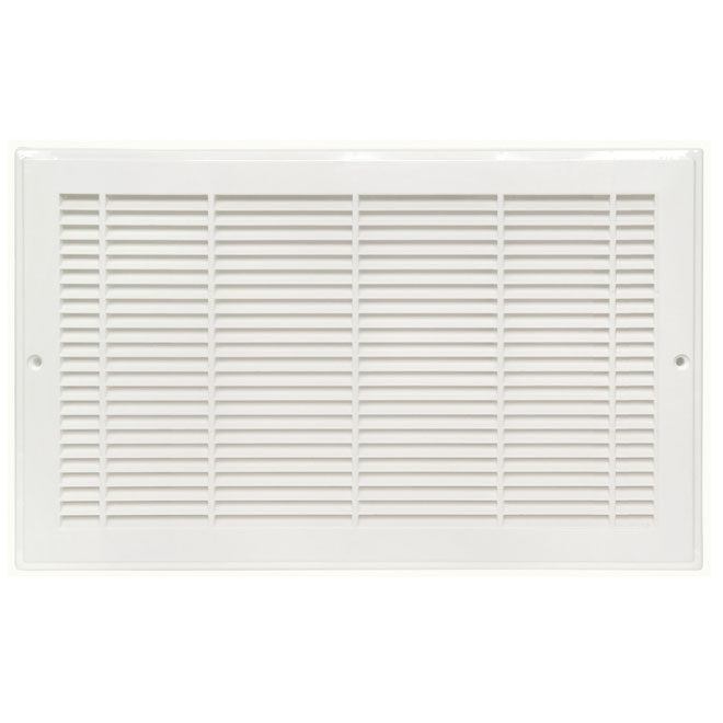 """Sidewall Grille - Plastic - 14"""" x 8"""" - White"""