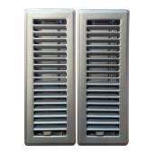 """Louvered"" Floor Register - 2-Pack"