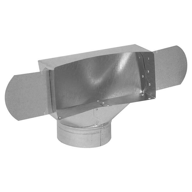 "5"" Galvanized Steel Ceiling Boot"