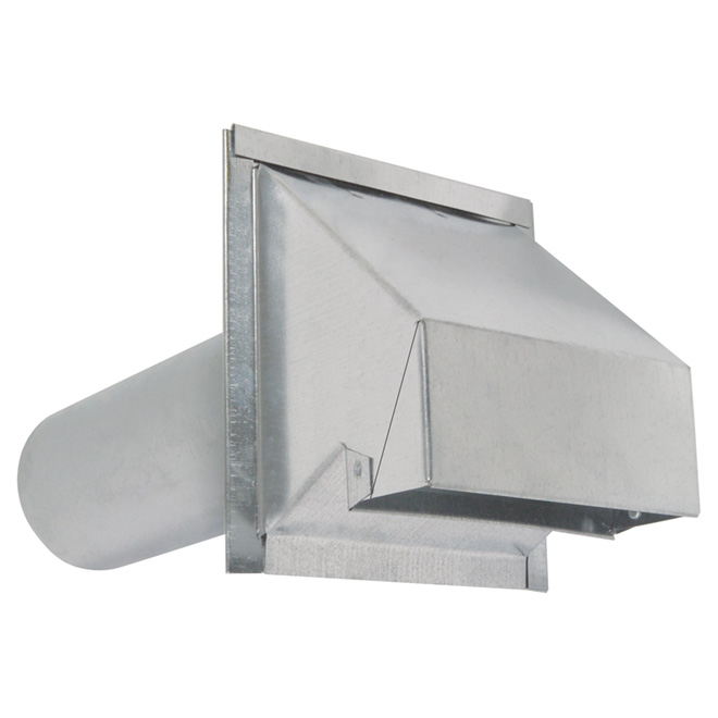 "Galvanized Steel Wall Exhaust Hood ""R2"""