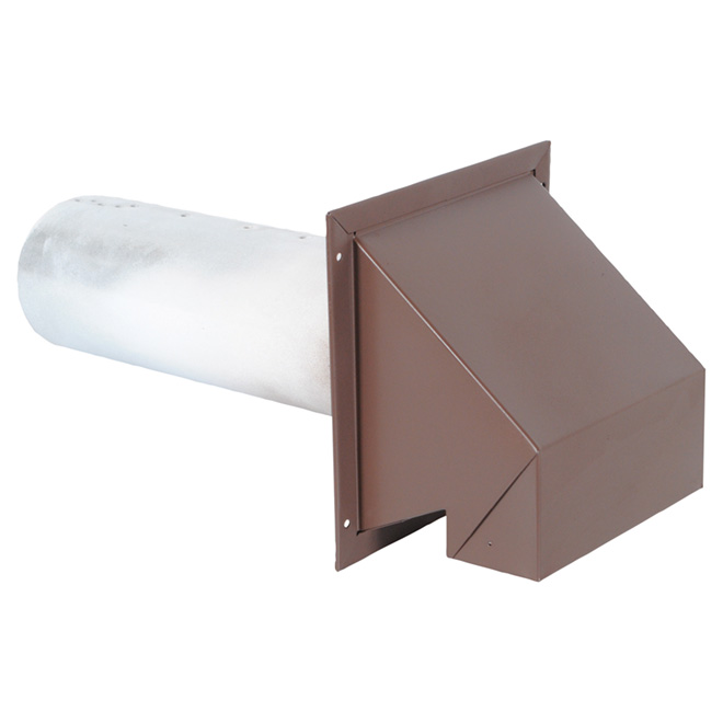 """Wall Exhaust - R2 - 6"""" - Brown"""