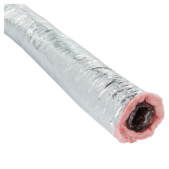 """2-Ply Polyester Air Duct - 3"""" x 25'"""
