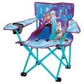 Chaise pliante pour enfant  La Reine des Neiges, bleue