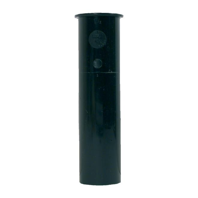 """Sink Tailpiece - ABS - 11/2"""" X 8"""" - Black"""