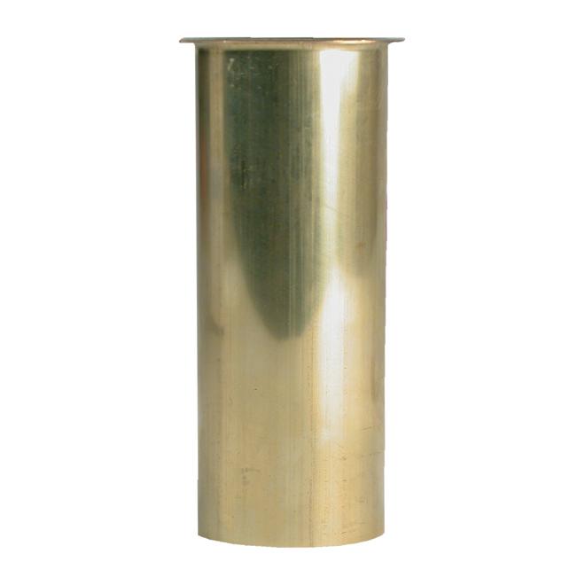 """Sink Tailpiece - Brass - Flanged - 1 1/2"""" x 4"""""""