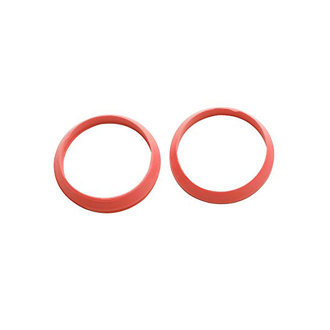 Rubber Slip-Joint Washer - Red - 1 1/2'' - Pack of 2