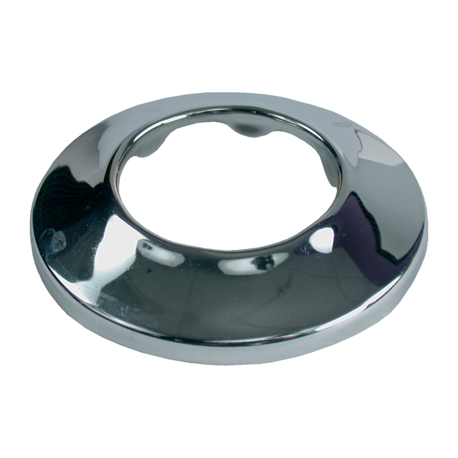 Regular Chrome-Plated Pipe Flange - 1 1/2""
