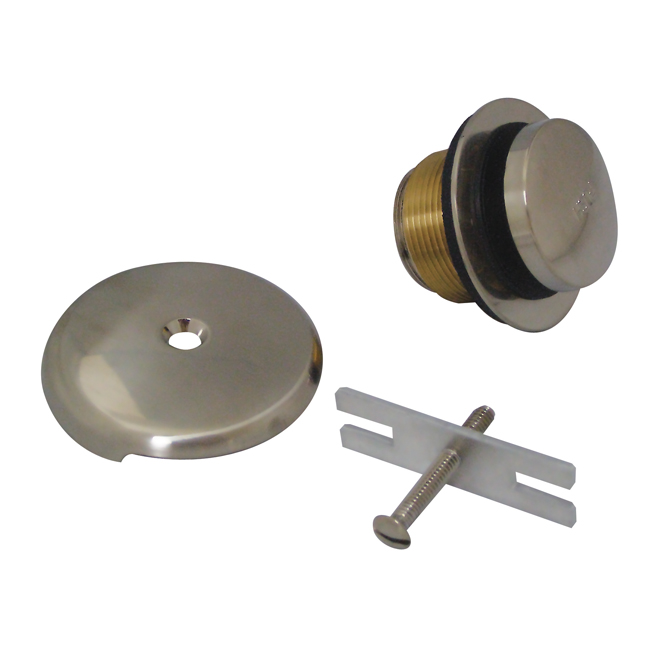 Bath Trim Kit - Brass - Chrome