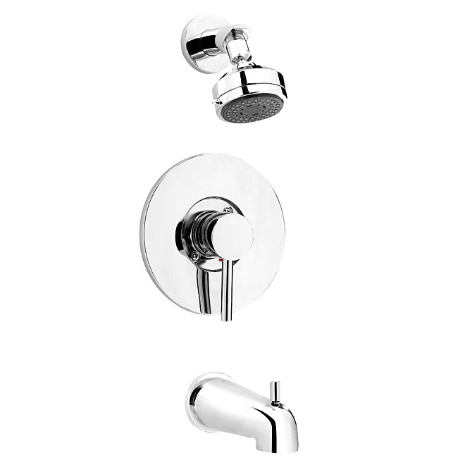 1-Handle Bath and Shower Faucet