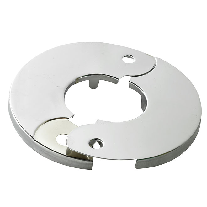 "Hinged Flange - 1/2"" - Chrome"