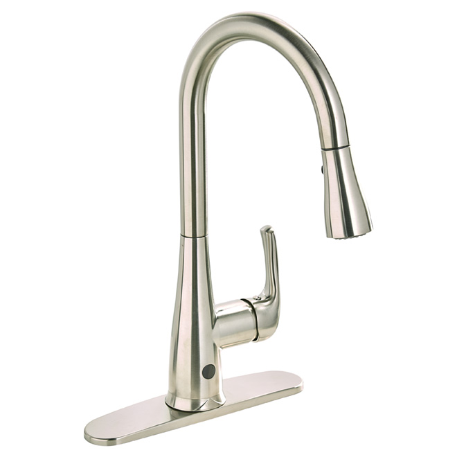 Essential Pull Down Kitchen Faucet Nexo Brushed Nickel