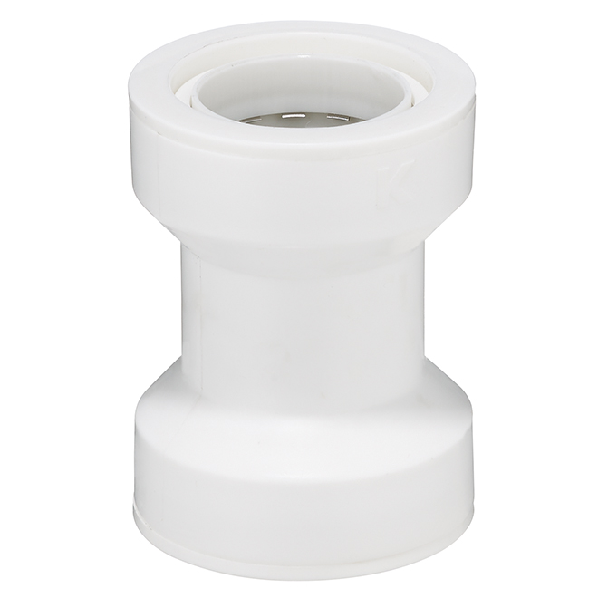 """Sink Coupling - 1 1/2"""" - White"""