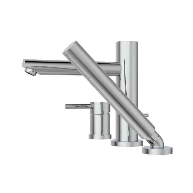 Belanger Roman Single Handle Tub Faucet, 8.6-in Polished Chrome