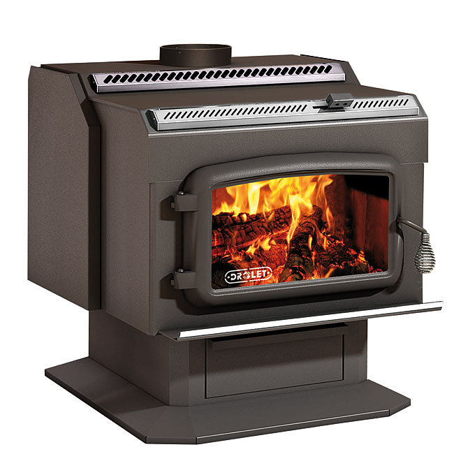 """Drolet """"HT-2000"""" Wood Stove"""