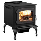 """Legend"" High-Efficiency Wood Stove -90,000 BTU -2100 sq ft"