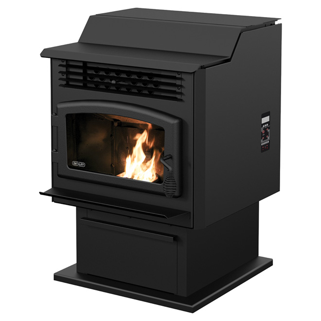 Remarkable Drolet Eco 55 Pellet Stove 39260 Btu H 500 2000 Sq Ft Interior Design Ideas Grebswwsoteloinfo