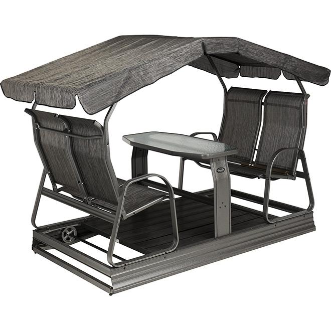 balan oire sur roues 4 places rona. Black Bedroom Furniture Sets. Home Design Ideas