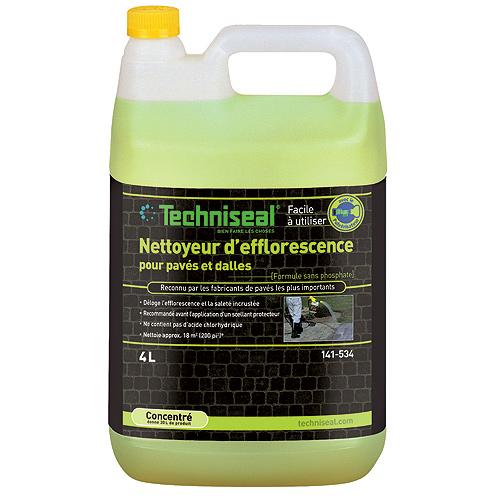 Nettoyant d'efflorescence pour pavés et dalles, 4 L, vert