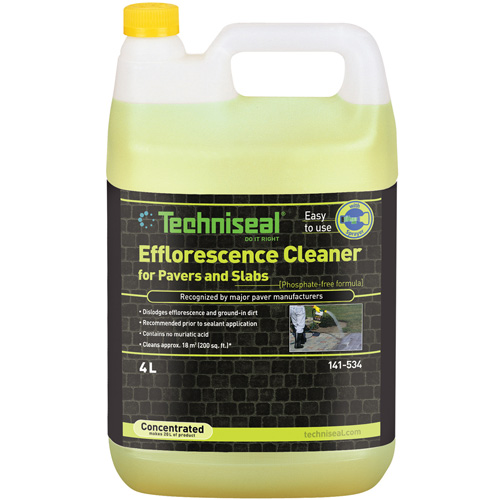 Efflorescence Clearer for Pavers and Slabs - 4 L - Green