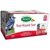 Bird Suet - Year-Round Suet - 333 g - 10 Pack
