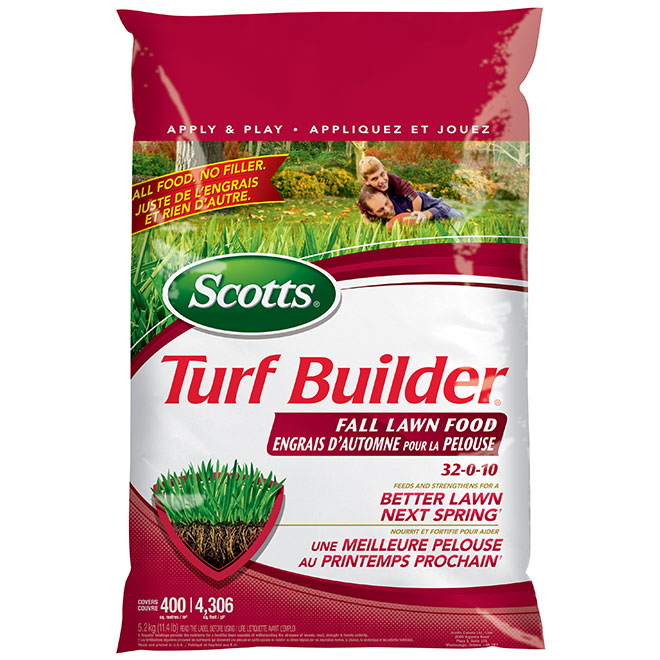 Turf Builder 32-0-10 Fall Lawn Fertilizer - 5.2 kg