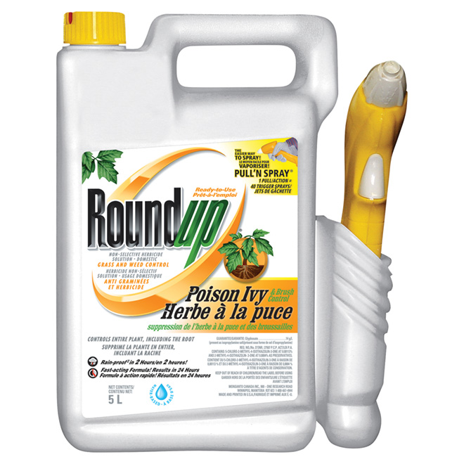 """Herbicide - """"Roundup"""" Poison Ivy and Brush - 5 L"""