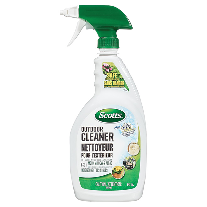 """""""Scotts Plus OxiClean"""" Outdoor Cleaner - 947 mL"""