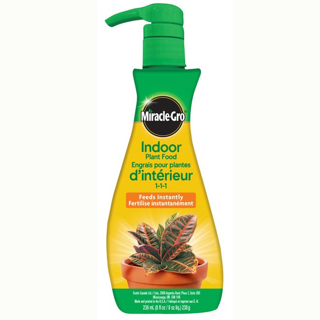 Engrais pour plantes d'intérieur en mousse - 263 ml